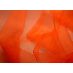 STIFF TULLE HOT-ORANGE