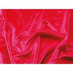 SMOOTH VELVET FLOURESCENT RED