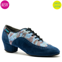 KATYA BROGUE - BLUE CAMO - INSPIRED BY KATYA