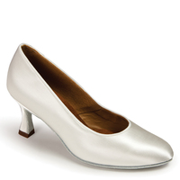 ICS ROUNDTOE - WHITE SATIN