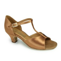 GIRLS KATIE (TAN SATIN)