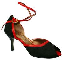 Tango-151 (RED CALF / BLACK NUBUCK)
