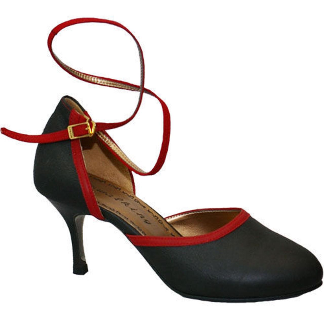 Tango-171 (RED NUBUCK / BLACK NUBUCK)