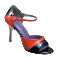 Tango-282 (BLACK LEATHER / RED LEATHER)