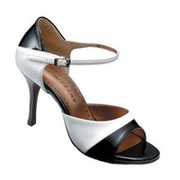 Tango-282 (BLACK LEATHER / WHITE LEATHER)