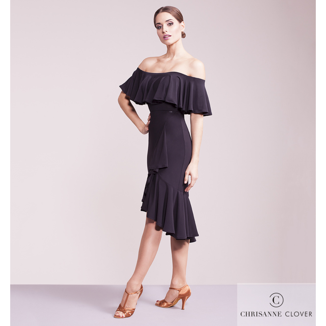 SHADOW LATIN SKIRT (Аргентинская, латинская юбка)