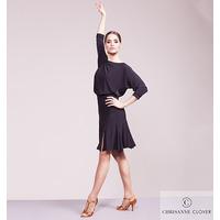 ILLUMINATE LATIN DRESS  BLACK (Латинское платье)