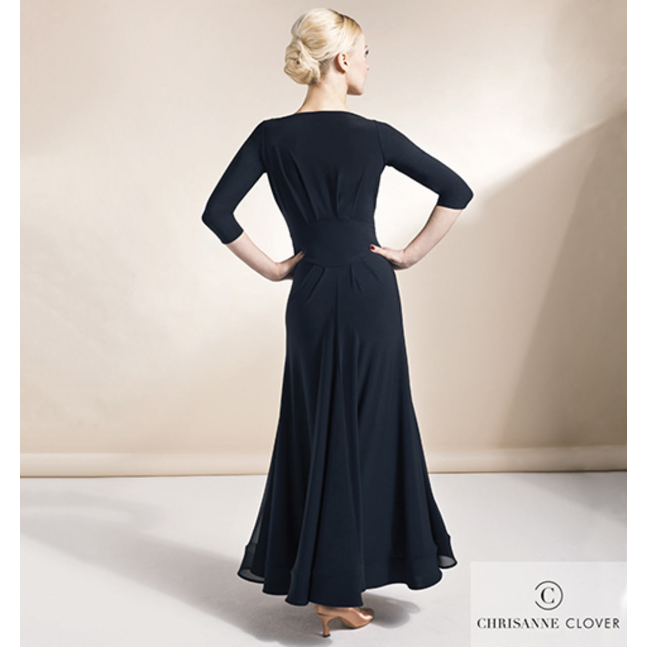 IMPERIAL BALLROOM DRESS / BLAC (Платье Стандарт черное)