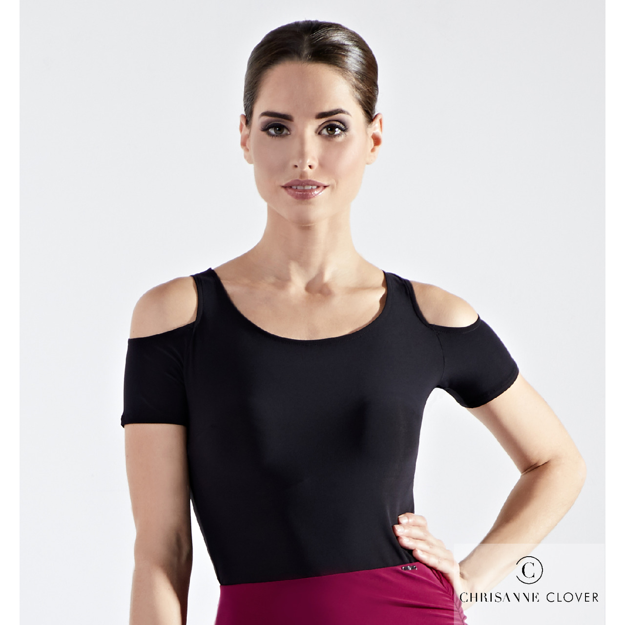 DIVA TOP BLK -WINE