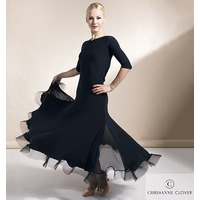 EVOKE BALLROOM DRESS BLACK  (Платье стандарт)
