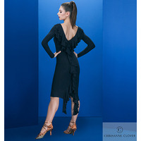 PORTIA LATIN DRESS  BLACK (Платье)