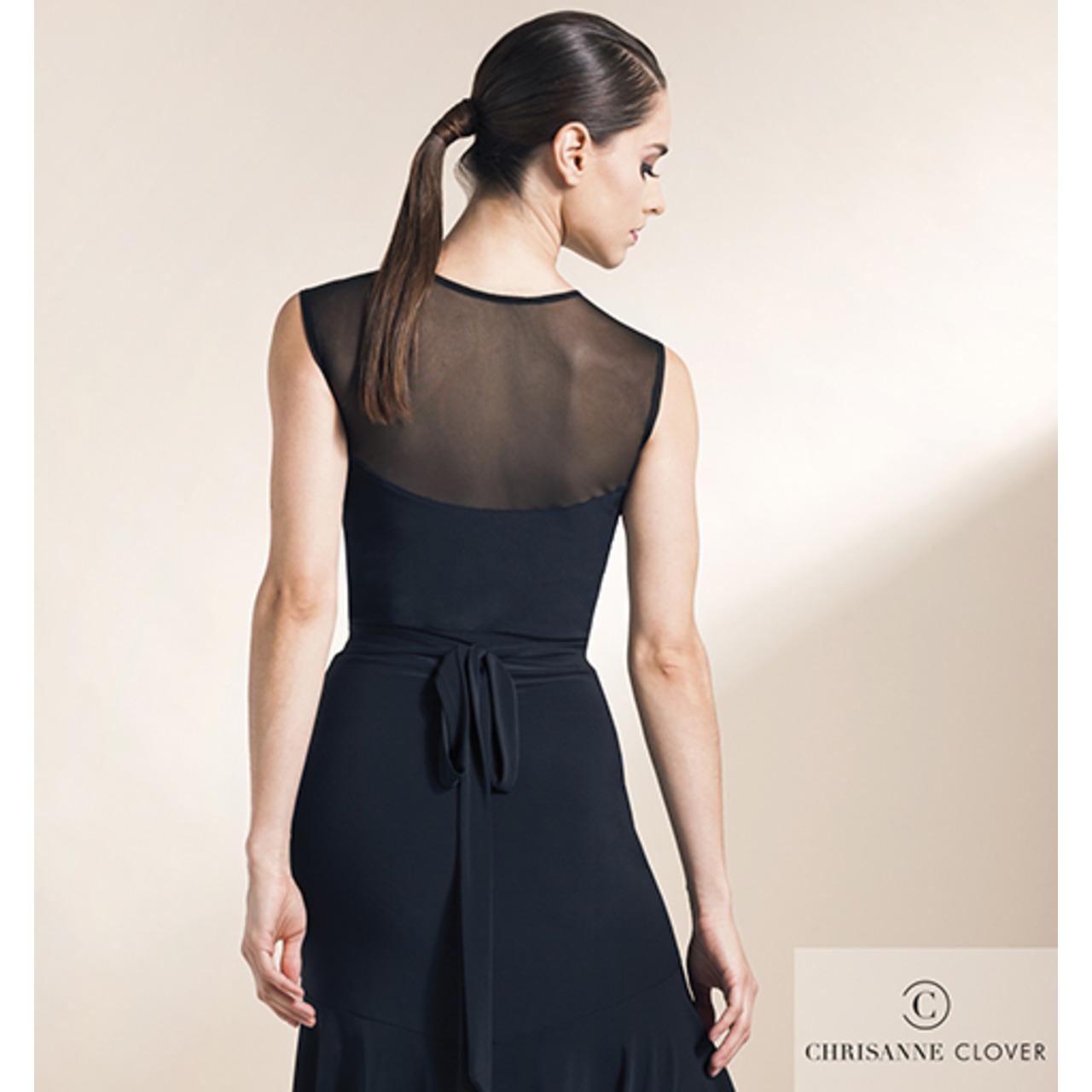 VERVE LATIN DRESS LARGE PURPLE RAIN (BLK) (Платье)